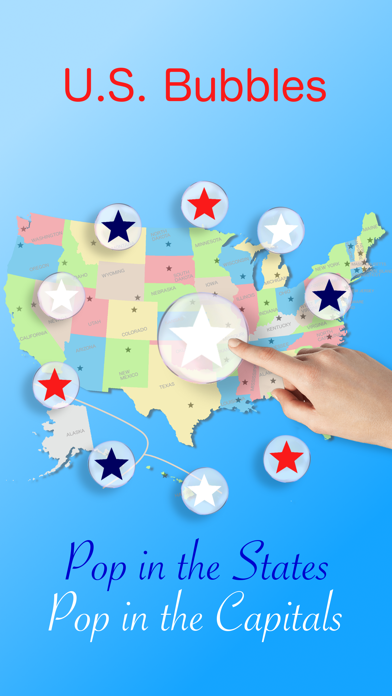 U.S. bubbles: US map quiz