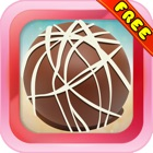 Chocolate Ball Crush : - A match 3 puzzles for Christmas season icon