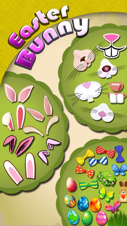 Easter Bunny Yourself - Holiday Photo Sticker Blender with Cute Bunnies & Eggs