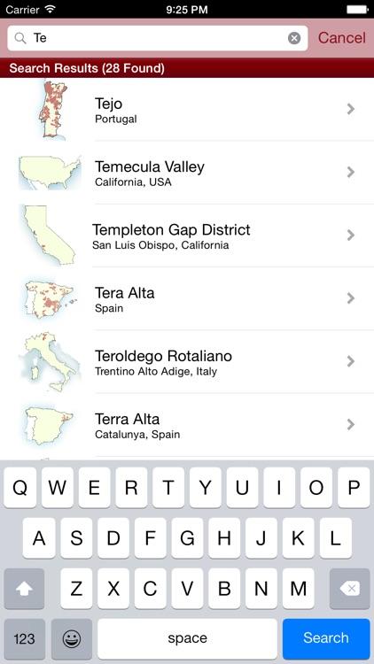 Wine Maps screenshot-3