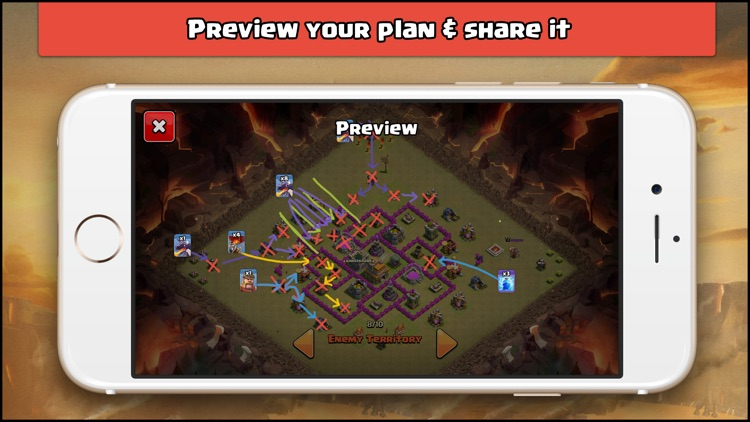 Clash Playbook: Plan Attacks for Clash of Clans screenshot-4