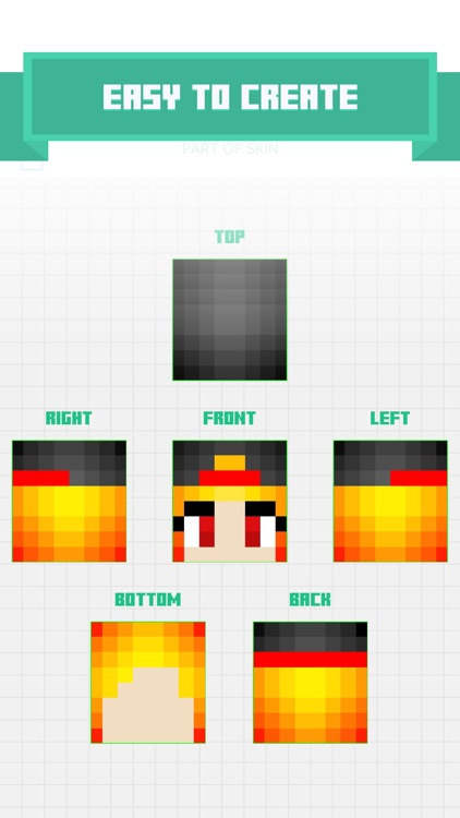 My face to Skin for Minecraft Pocket Edition PE screenshot-4