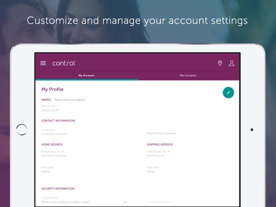 screenshot 5 for control card prepaid - Control Prepaid Card