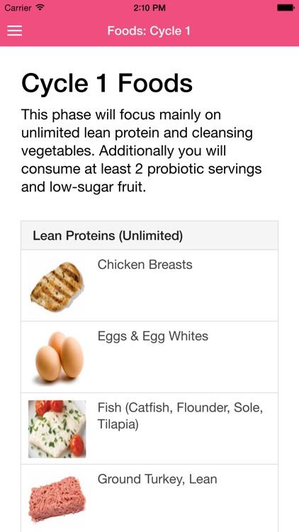 17 Day Diet Guide screenshot-3