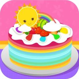 Super Rainbow Cakes