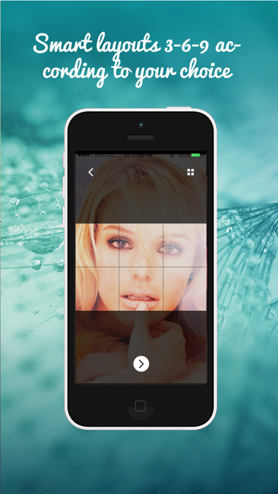 IGGrids –  Crop Your Photos In Banners / Tiles For Instagram Profile View screenshot four