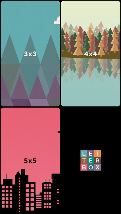 Letter Box - Word Games for Brain Training screenshot one