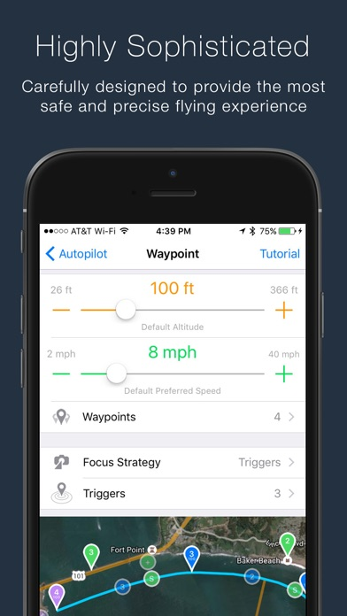 Autopilot for DJI Drones