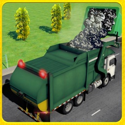 City Garbage Truck Driver Simulator: A Real Driving Test Game