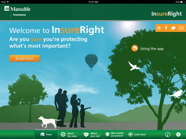 Manulife InsureRight on the App Store