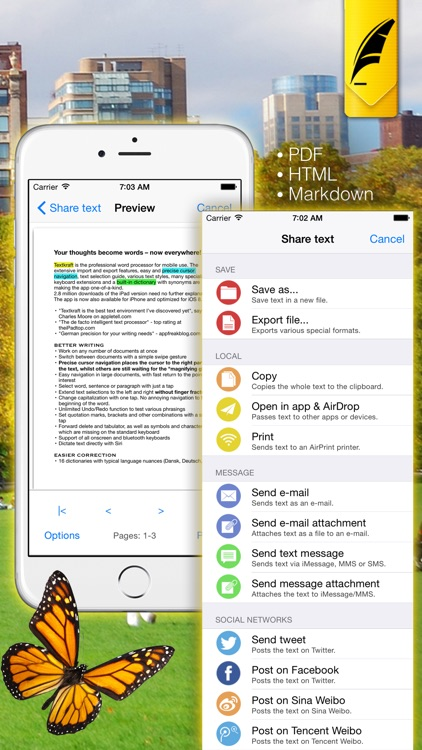 Textkraft Pocket screenshot-4