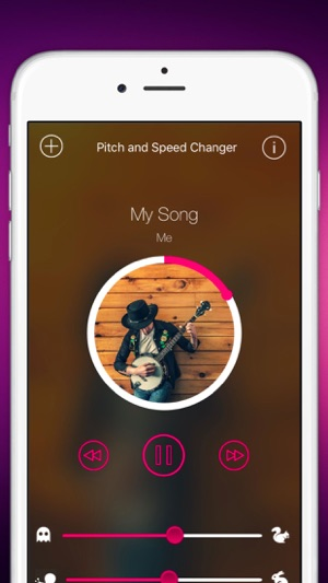 TimePitch - Song Pitch and Speed Changer on the App Store