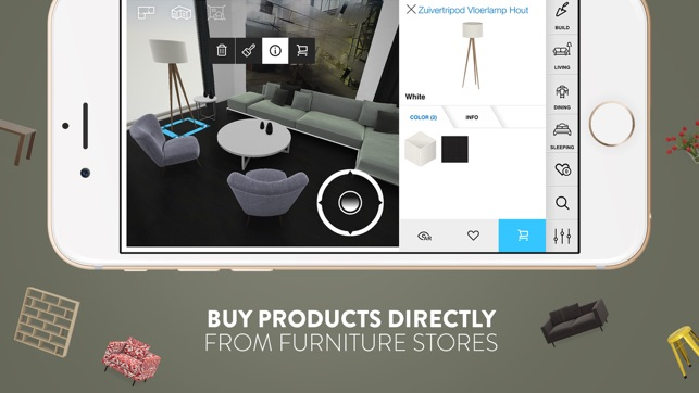 Amikasa 3d Floor Planner With Augmented Reality On The