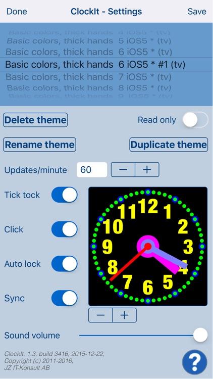 ClockIt - create & share clock screenshot-3