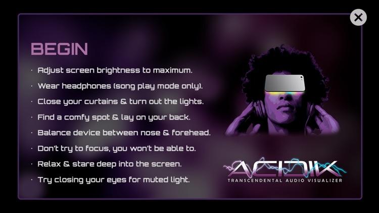 Acidik™ - Wearable Audio Visualizer