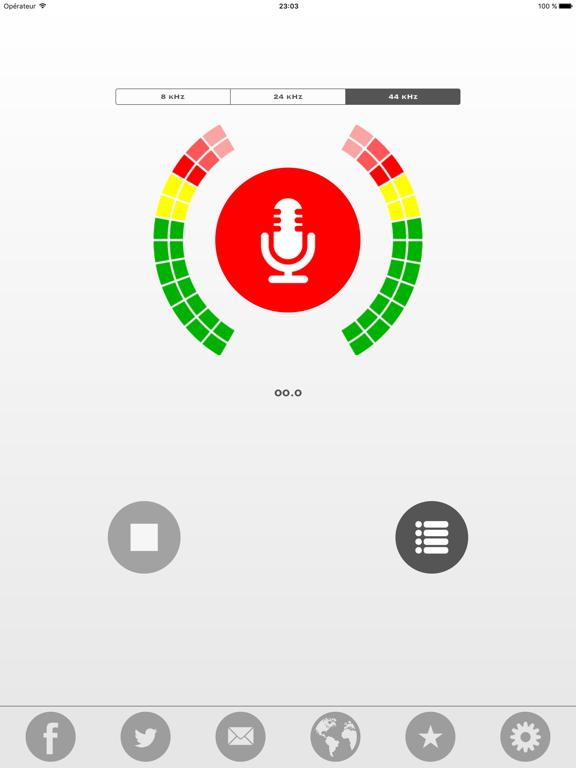 Screenshot #5 pour My Rec - Enregistreur Audio