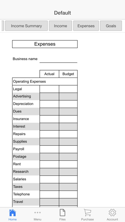 Business Budget Pro screenshot-3