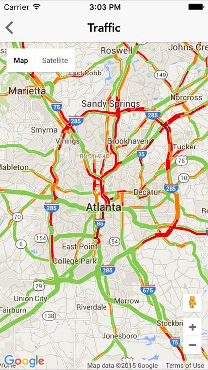 ATL wx: Atlanta Weather Forecast, Radar, Traffic screenshot-4