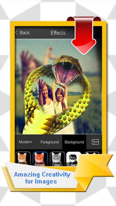 Beastly Special Effects - Take Stunning Photo & Make Collage With PIP Creature Camera screenshot three