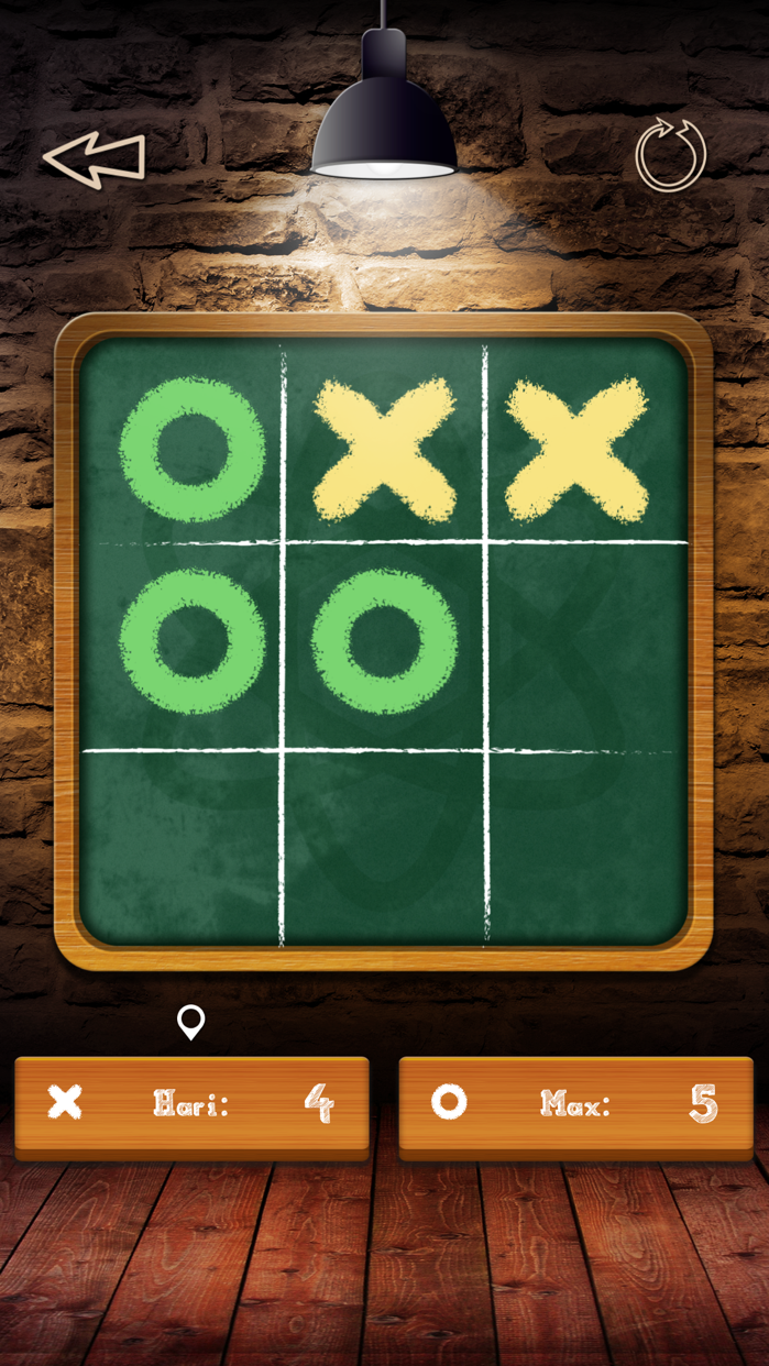 Tic Tac Toe Free Glow - 2 player online multiplayer board game with friends Screenshot