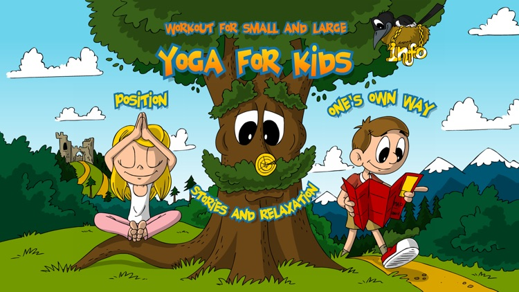 Yoga for Kids - Fun Workout for Kids screenshot-0