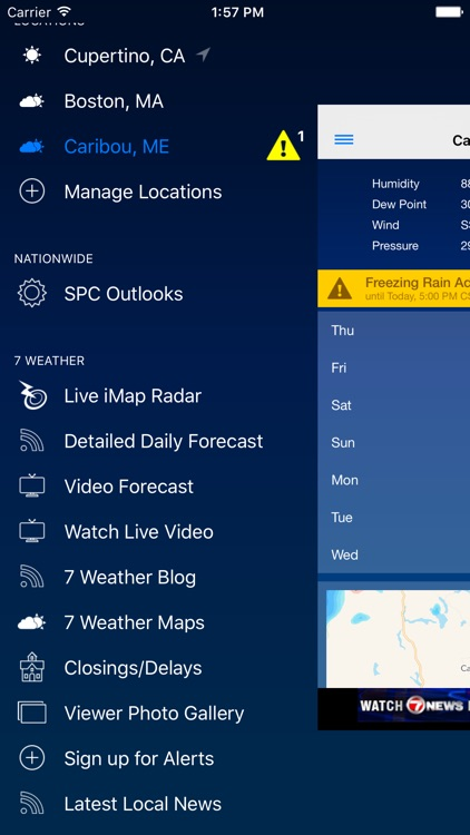 WHDH - 7 Weather Boston screenshot-4