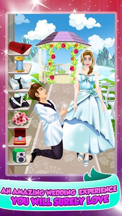 Princess Wedding Salon Spa Party - Face Paint Makeover, Dress Up, Makeup Beauty Games! screenshot-3