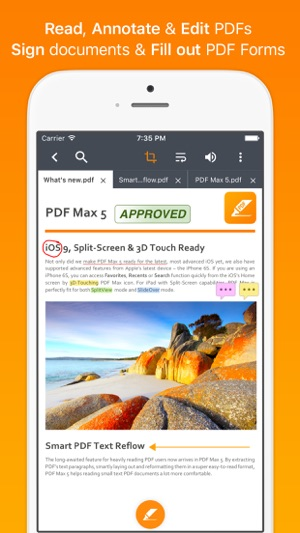 PDF Max 5 Pro - Fill forms, edit & annotate PDFs, sign documents Screenshot