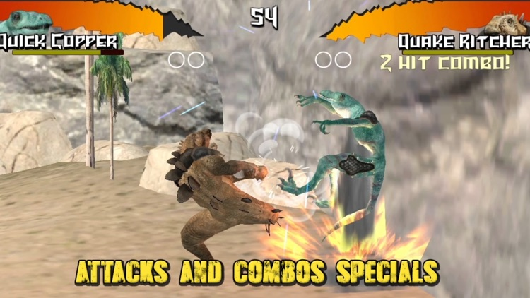 Dinosaurs Free Fighting Game