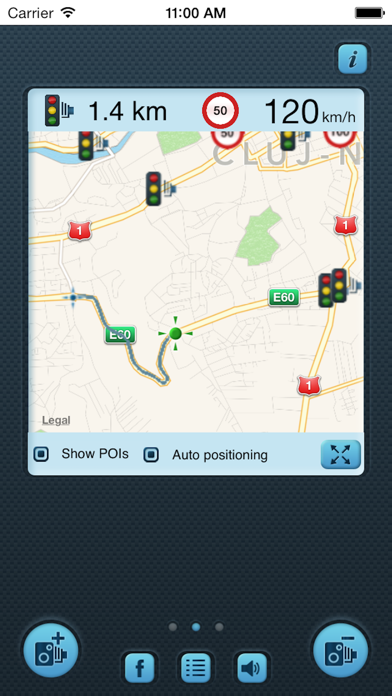 i SpeedCam World (Speed Camera Detector with GPS Tracking) Screenshots