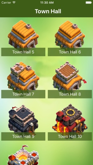 Maps and Layouts for Clash of Clans im App Store Clash Of Clan Map on
