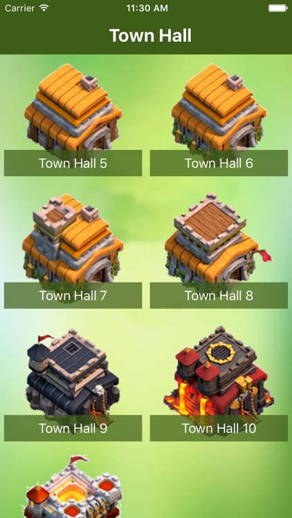 Maps and Layouts for Clash of Clans screenshot-0