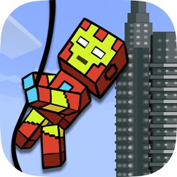 Superhero Swing Multiplayer - A Rope Escape Adventure Game