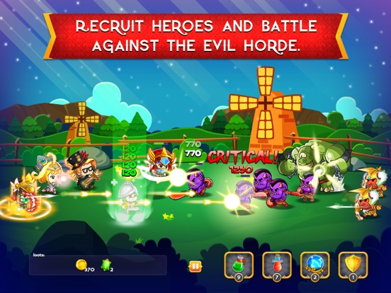 Screenshot #2 for Rise of Heroes