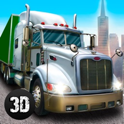 Great American Cargo Trucks: Driving Simulator 3D