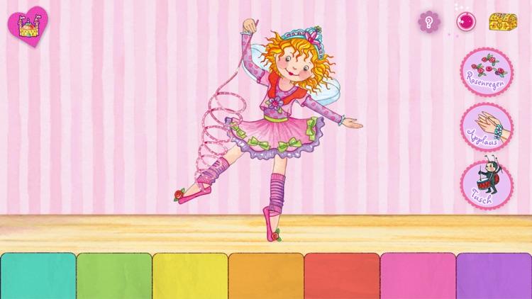 Prinzessin Lillifee Ballettzauber - Bildergeschichte, Tanzspiel, Stickerzauber