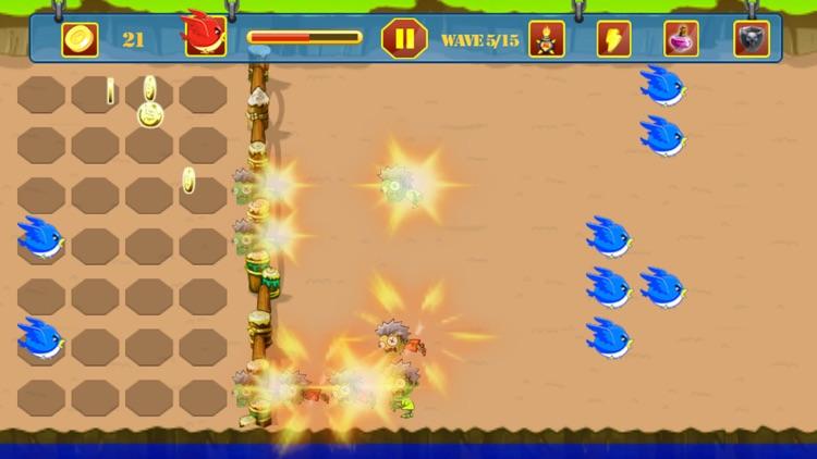 Zombie vs Bird Battle screenshot-4
