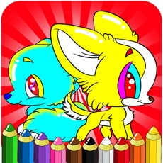 Activities of Drawing Painting Puppy - Coloring Books Games For Toddler Kids and Preschool Explorers