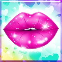 Lip Kissing Game Love Test + Analyzer Prank for Boys & Girls with Best Kiss.er Meter