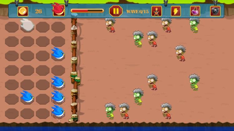 Zombie vs Bird Battle screenshot-3