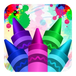 Kids Coloring Book - Colouring Doodle Fun for Kids Learning