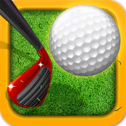 Ultimate Flick Golf Challenge Mobile Game : Pixel Hole Madness