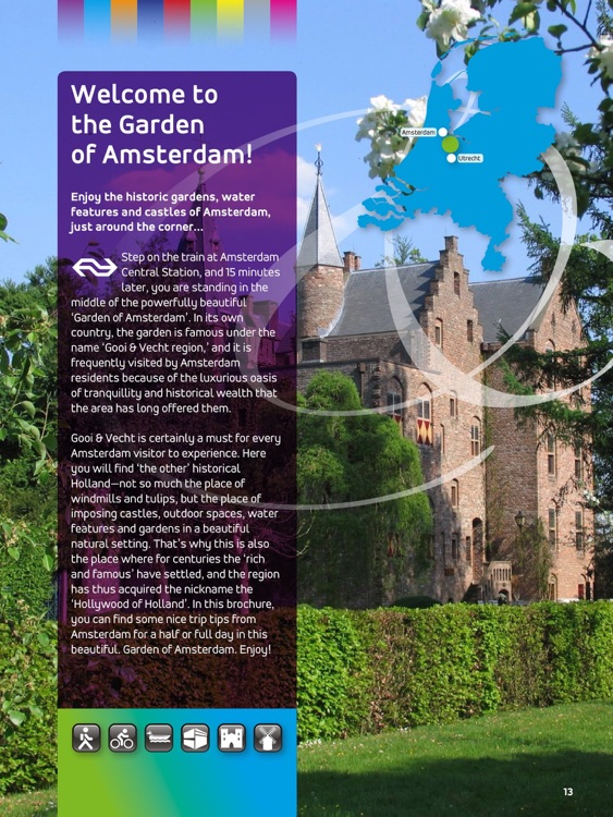 Welcome in the Garden of Amsterdam!