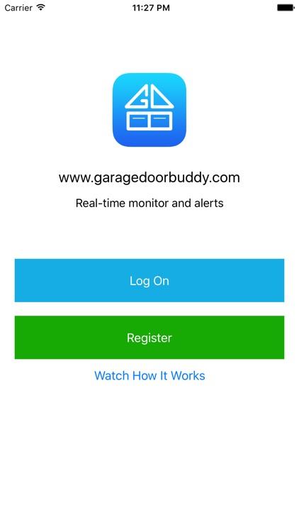 GarageDoorBuddy Monitor