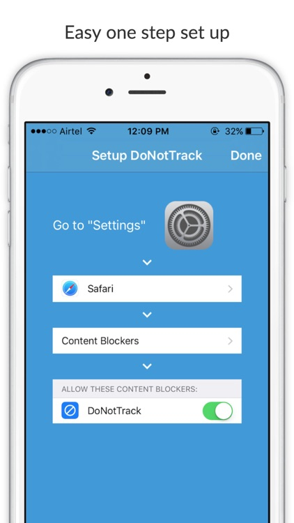 Do Not Track - Block tracking scripts and protect personal data while browsing screenshot-4