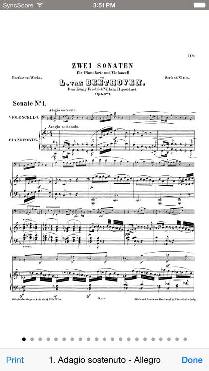 Beethoven Cello Sonatas screenshot-3