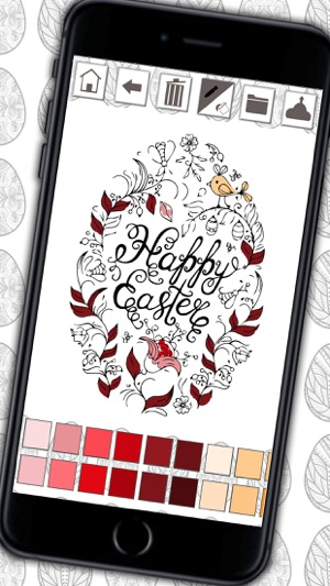 Easter Mandalas Coloring Book Secret Garden Colorfy Game For Adults