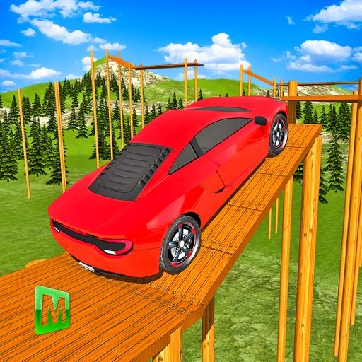 Real Crazy Stunts Car Driving Simulator 3D iOS App