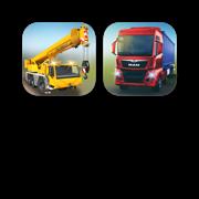 Construction & Truck Simulations Bundle