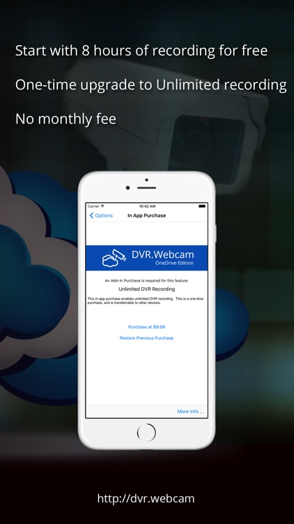 DVR.Webcam - OneDrive Edition screenshot-4